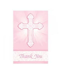Elegant Cross Thank You