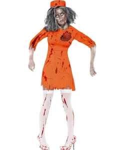 Zombie Death Row Diva Costume