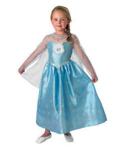 Deluxe Disney Frozen Elsa Costume - Kids  sc 1 st  The Costume Shop : orphan costumes for kids  - Germanpascual.Com
