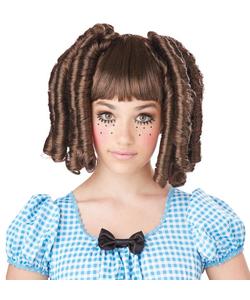 Baby Doll Curls Wig - Brunette