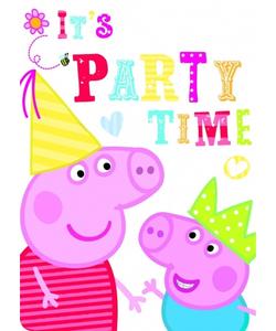 Peppa Pig Invite Cards - 6 Pack