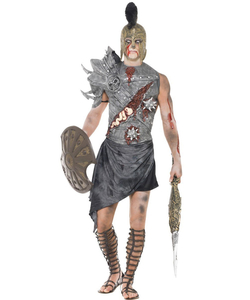 Men's Zombie Gladiator Costume