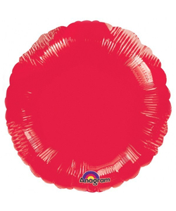 Round Red Foil Balloon - 18""