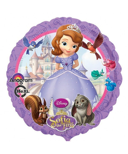 "Disney Sofia The First Foil Balloon - 17"""