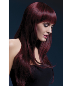 Sienna Black Cherry Wig