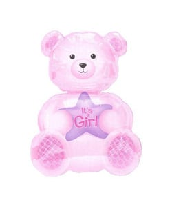 Girl Bear Balloon