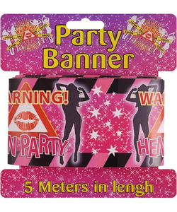 Hen Night Warning Tape - 13m