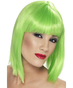 Green Glam Wig