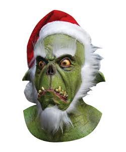 Green Santa Mask