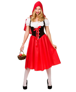 plus size red riding hood