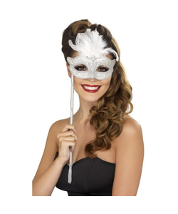 White Masquerade Mask
