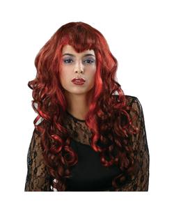 Luscious Vamp Wig - Red
