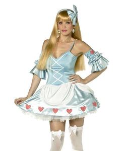Rebel toons Alice in wonderland costume