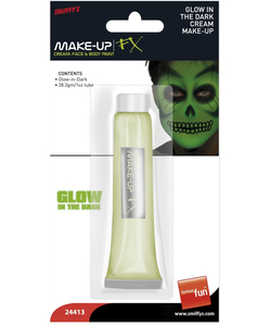 glow in the dark make up