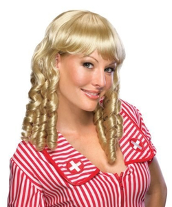 Baby doll wig mix blonde