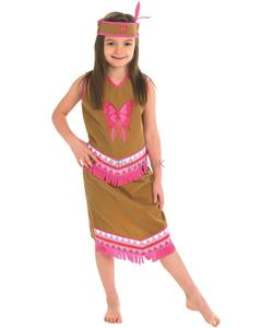 Indian Squaw Girl