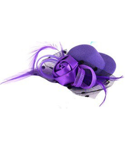 mini hat hairclip