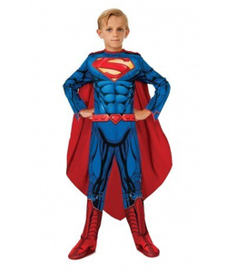 Kids Superman Muscle Chest Costume