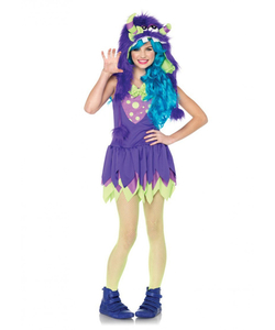 Girls Teen Monster Costume