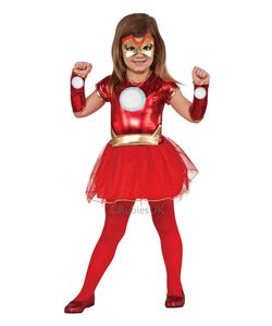 iron girl costume