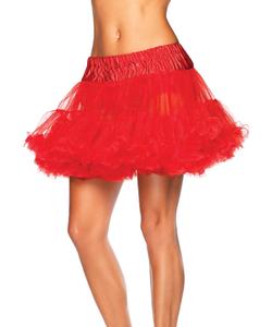 Red Deluxe Petticoat