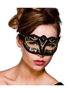 Black and Gold Verona Eyemask