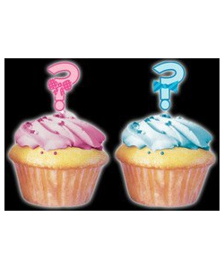 Baby Shower Cupcake Toppers - 12 Pack