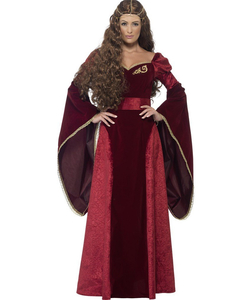 Plus size Deluxe Medieval Queen