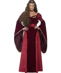 Plus size Deluxe Medieval Queen