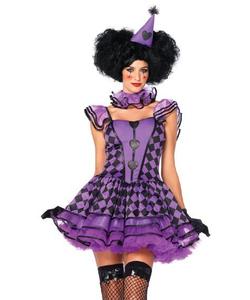 Party Parisian Clown Costume