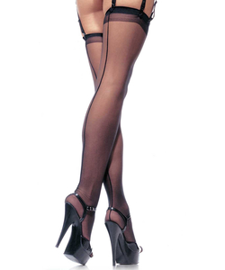 Sheer Stockings - Black