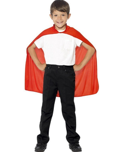red hooded cape - kids
