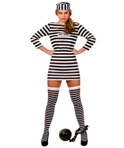 Jailbird Cutie Costume - Plus Size