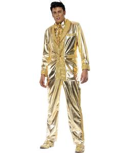 Elvis gold costume