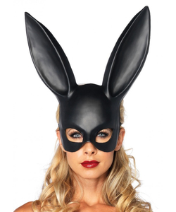 Black Masquerade Rabbit Mask