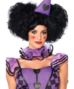 clown ladies wig