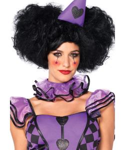 clown ladies wig