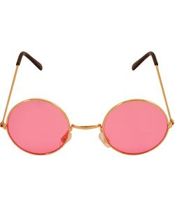 70's Circle Pink Glasses