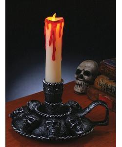 Skull Candleabra