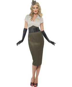 plus size Army Spice Darling costume