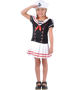 Kids sailor girl costume
