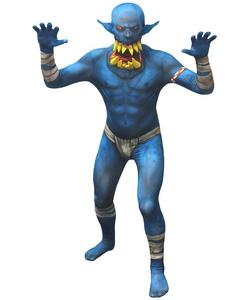 Blue Orc Costume