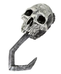 skull pirate hook hand
