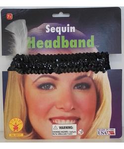 Sequin Headband - Black