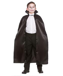 Kids Hooded Cape - Black