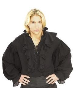 black pirate shirt