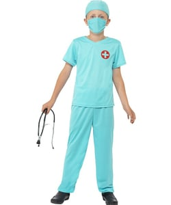 Tween Surgeon Costume