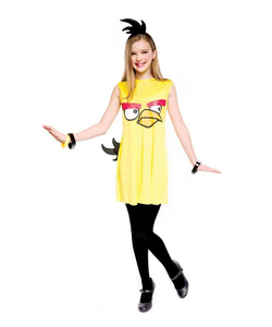 Yellow Angry Bird Tween Costume
