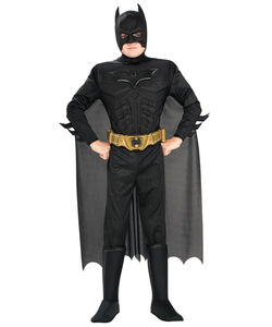 Kids dark knight batman costume