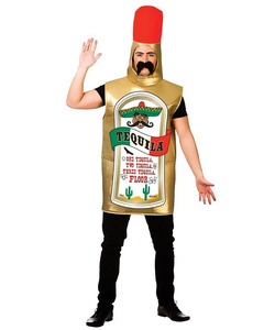 Tequila Bottle Fancy Dress Costume